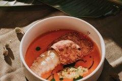 蝦蛄扇蝦-西班牙臘腸-巴西利