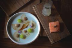 Salmon-Snow-Pear-Cucumber-煙燻鮭魚-雪梨-醃黃瓜